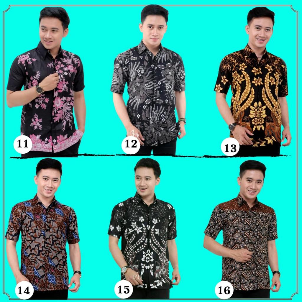 ❤HOT SALE❤ KEMEJA BATIK LELAKI/ BAJU RAYA/ LENGAN PENDEK/ BATIK ASLI/ Men Batik Clothes Batik Shirt Short Sleeve