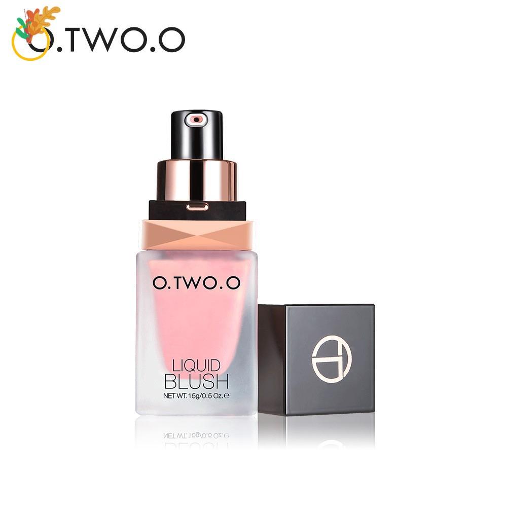 O.TWO.O Liquid Blusher Cosmetic Cheek Color Natural Girls Beauty 1pc
