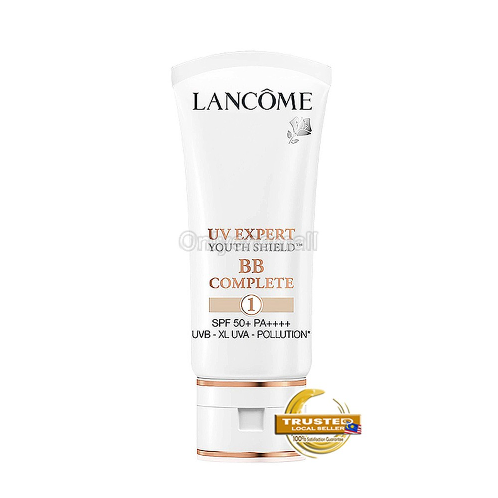 Lancome UV EXPERT BB COMPLETE SPF 50+ PA++++ 50ml (#001 With Free Gift)