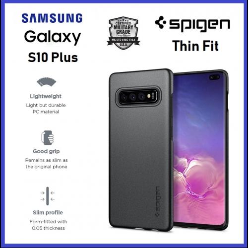Samsung Galaxy S10 Plus S10+ Spigen Tough Armor Case Cover Original   Shopee Malaysia