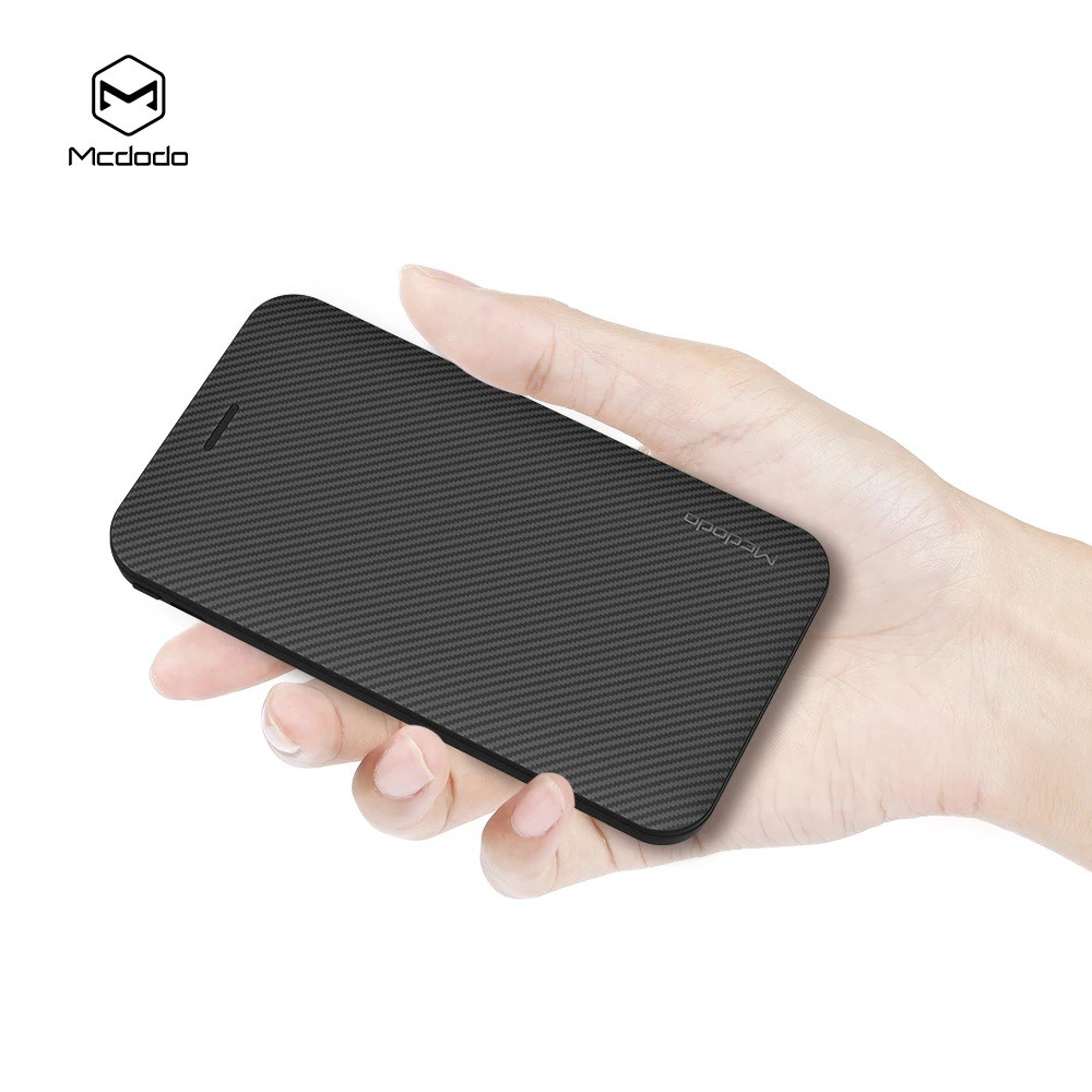 MCDODO MC5000 POWER BANK 5000MAH POLYMER 1 USB 1A OUTPUT [FREE ADAPTER] MICRO USB LIGHTNING CABLE OVERCHARGE PROTECTION