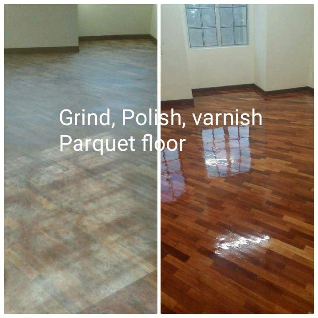 Wood Parquet Floor Polish Varnish Shopee Malaysia