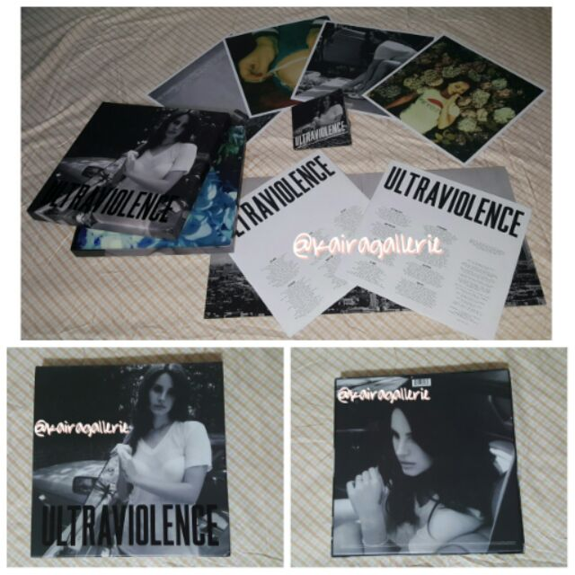 Reduced Lana Del Rey Limited Ultraviolence Deluxe Box Shopee Malaysia