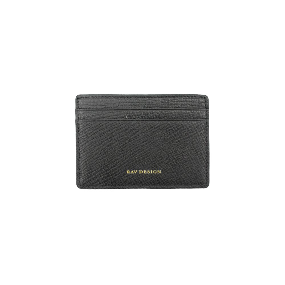 RAV DESIGN Men's Genuine Leather Anti-RFID Card Holder |RVW669G4 (C)