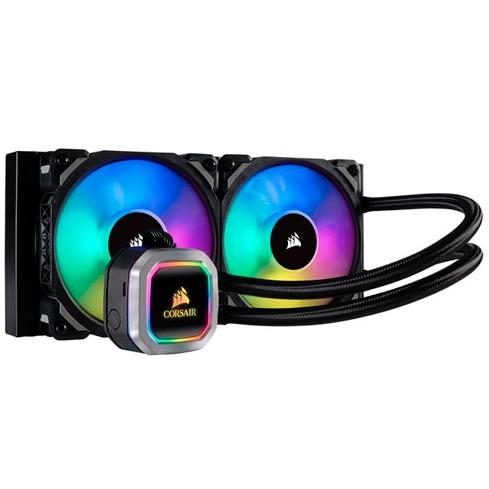 # CORSAIR Hydro Series H100i RGB PLATINUM 240mm Liquid CPU Cooler #