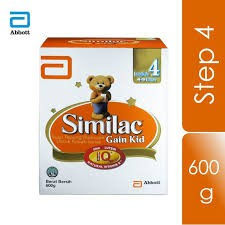 Abbott Similac Gain Kid NVE Step 4 (4-9 Yrs) BIB 600g