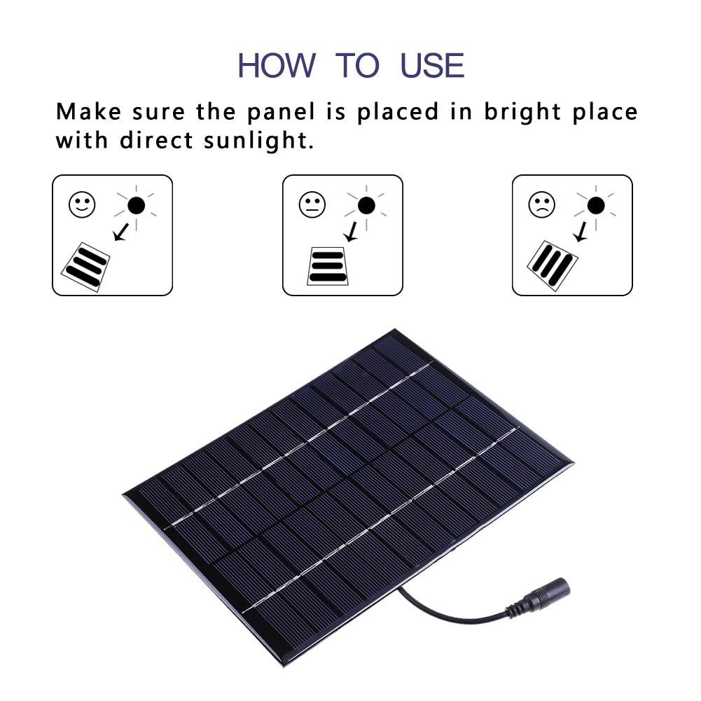 Chargers Portable 2w 6v 330ma Polysilicon Diy Solar Power Panel Battery Panel Kit For Light Battery Cell Phone Toys Chargers Kit Accessories & Parts