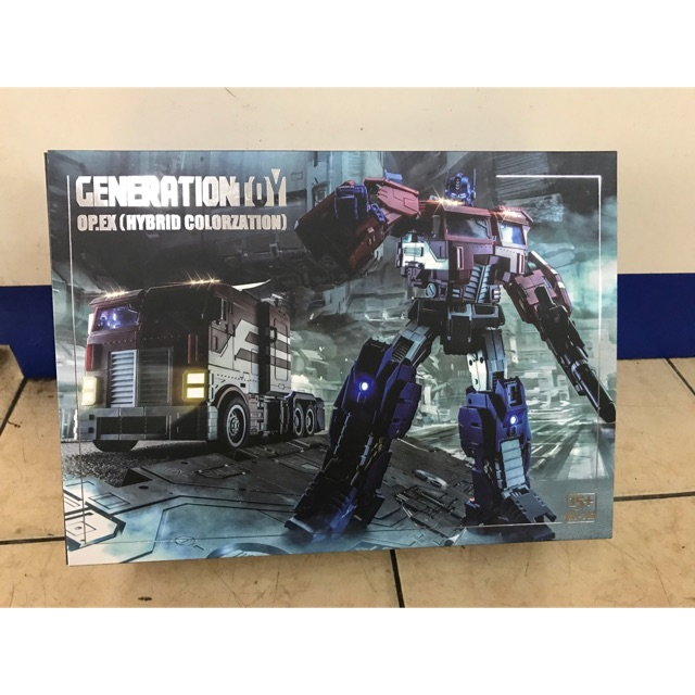 Generation Toy Transformers GT-03S Optimus O.P EX Packed reprint