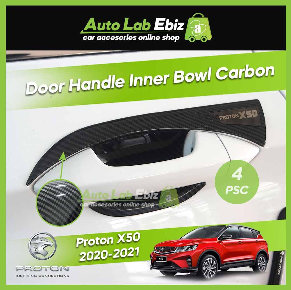 Proton X50 2020-2021 Door Handle Inner Bowl Carbon (4 pcs/set)