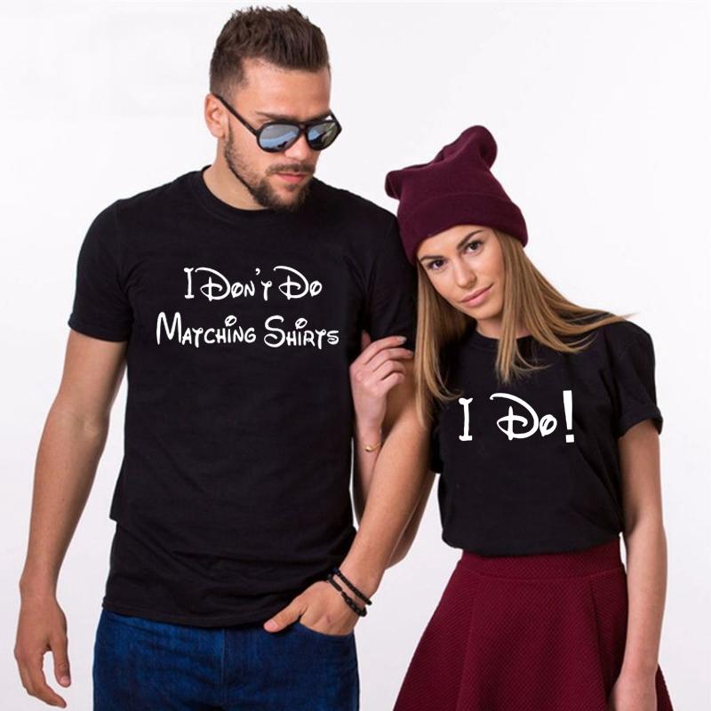 Husband Wife Shirts I Don/'t Do Matching Shirts Matching Shirts Husband And Wife Couple Shirt Funny Couples Shirts