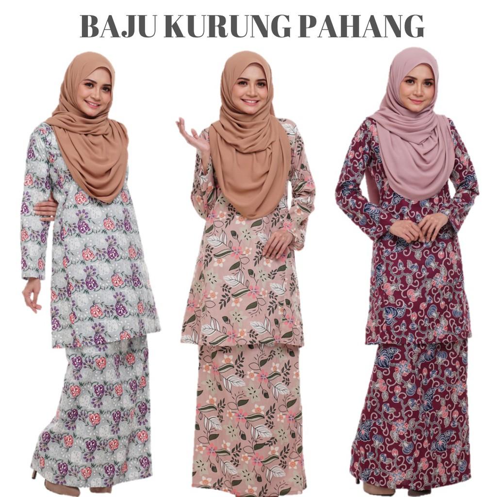 Sales 2pcs Rm100 Kurung Pahang Cotton By Armar Collection