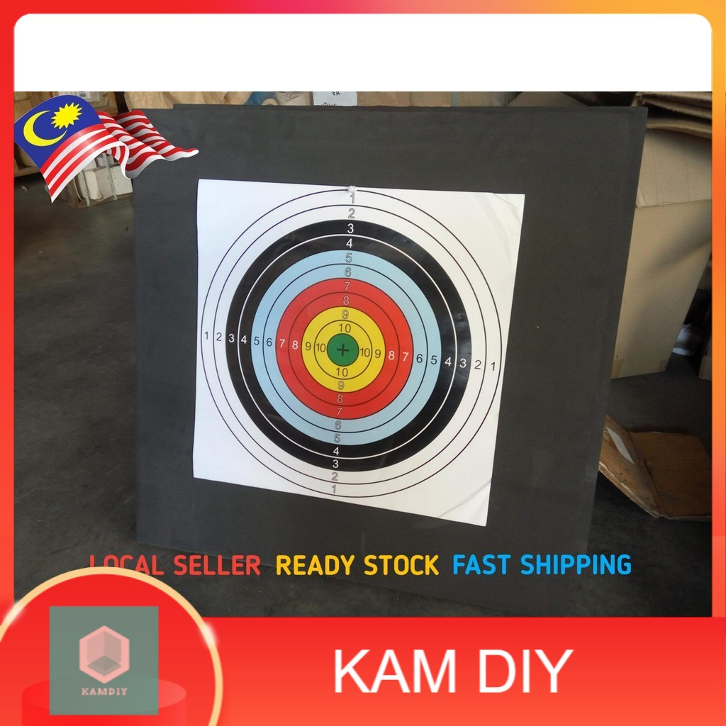 60*60*5cm Archery Target EVA Foam Board Self Healing Compound Recurve