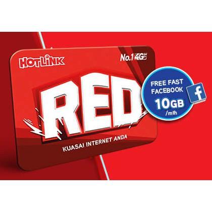 FREE 10GB Internet Hotlink 4G Sim Card