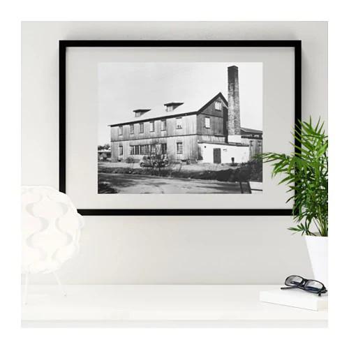 IKEA RIBBA Pictutre Photo Frame Black 50 X 70 Cm