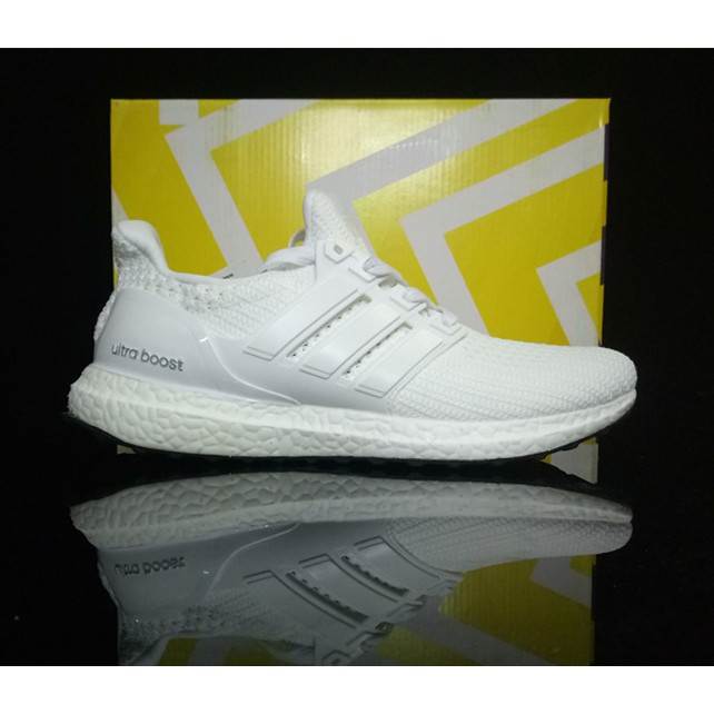 0629afc339d525 original adidas ultra boost 3.0 black men Breathable running shoes free  shipping