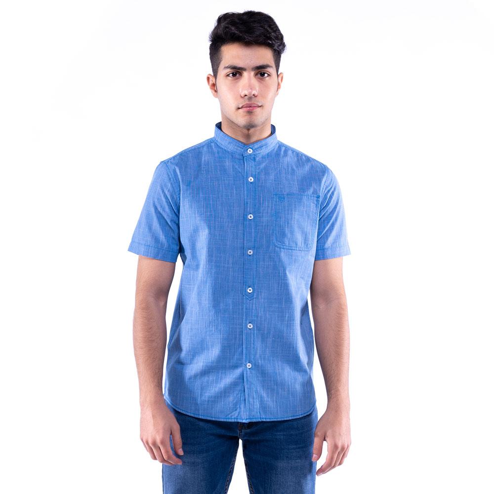 Rav Design 100% Cotton Woven Shirt Short Sleeve  RSS31403201