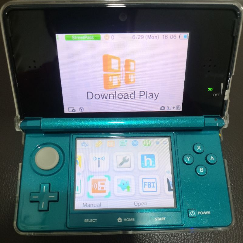 Nintendo 3DS English USA Modded