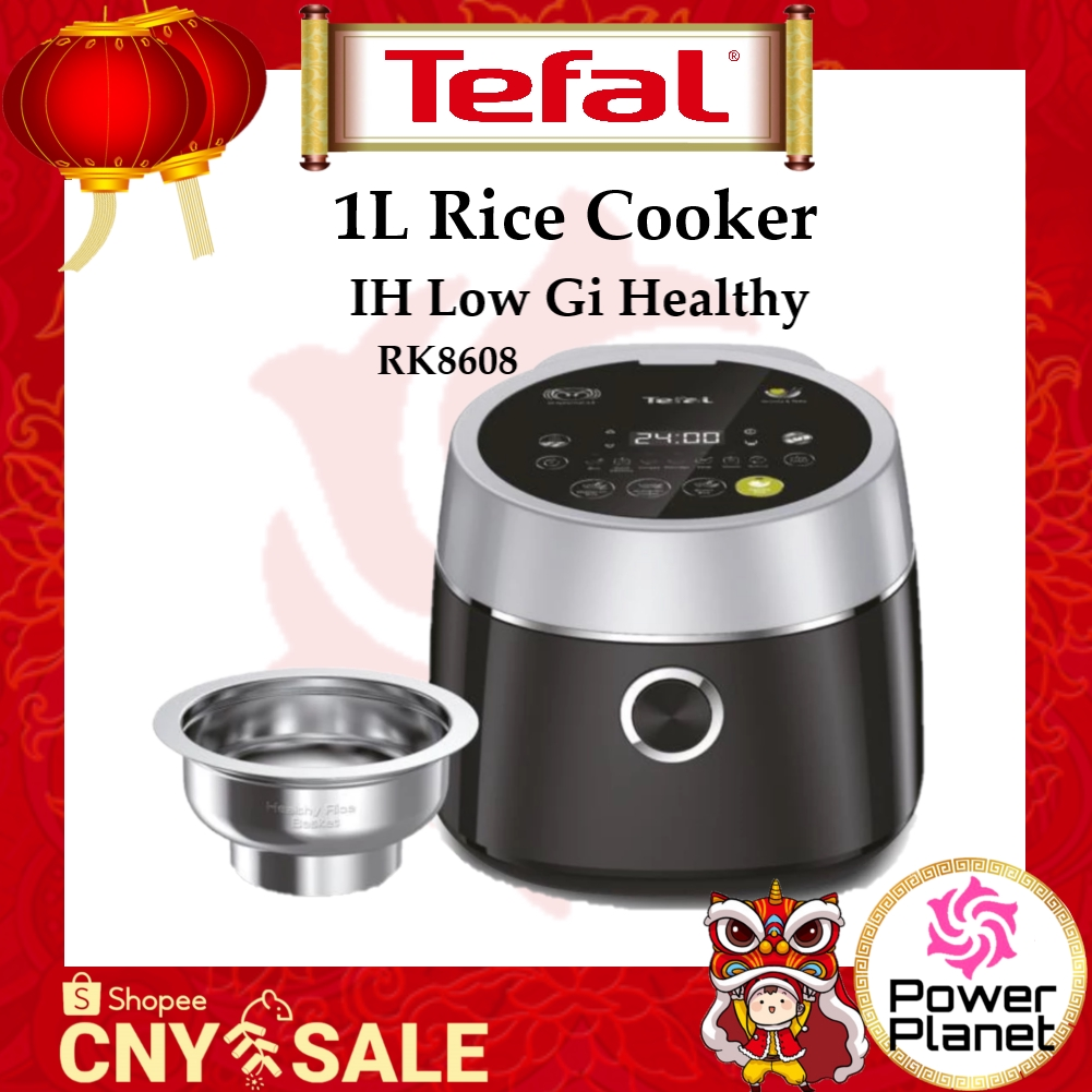 Tefal Rice Cooker 1L IH Low Gi Healthy RK8608