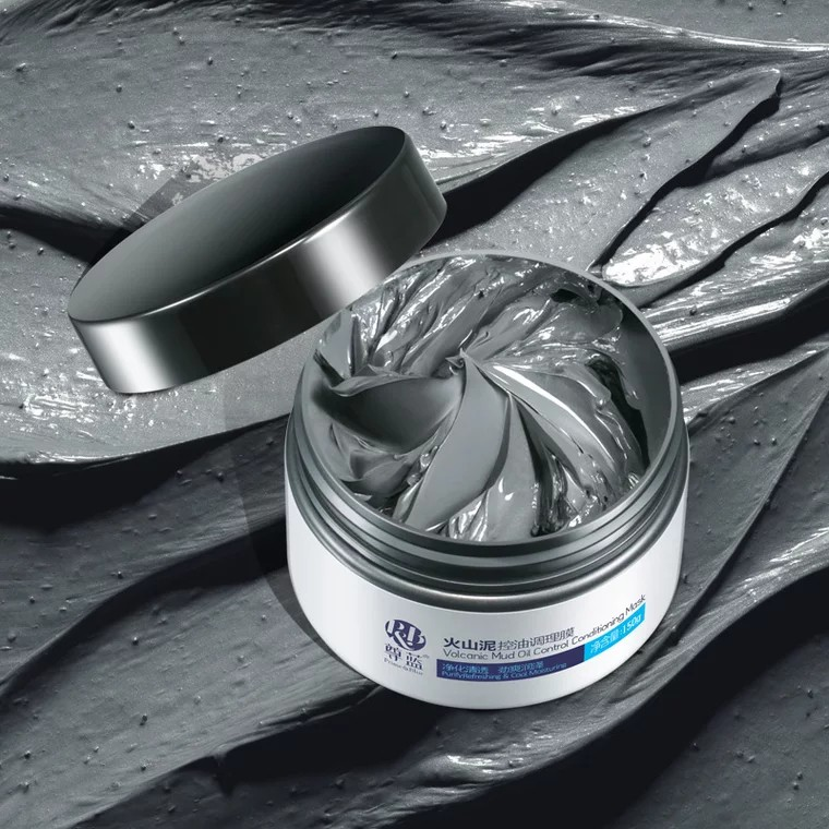 【Ready Stock】PRIME BLUE Volcanic Mud Oil Control Mask 尊蓝 火山泥控油调理膜