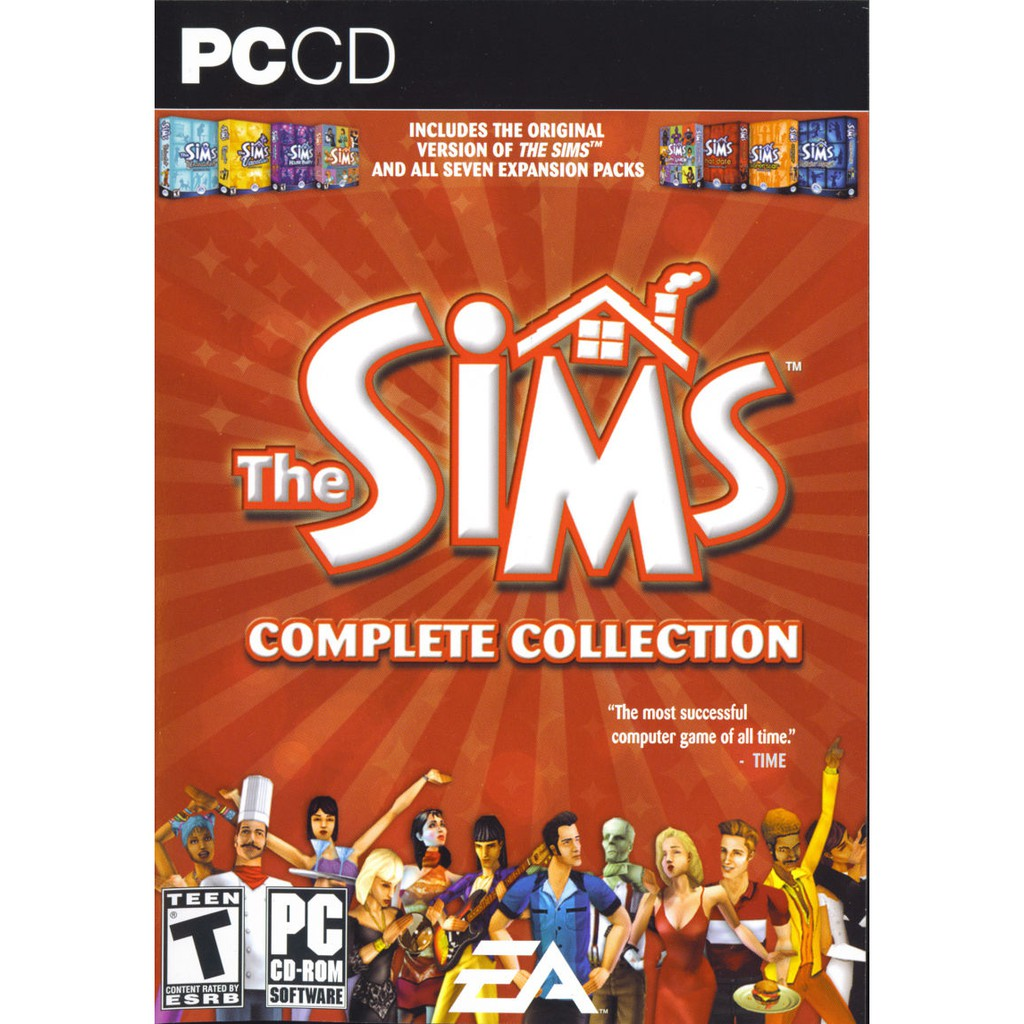 [PC Game] The Sims Complete Collection - Offline Version [DVD]