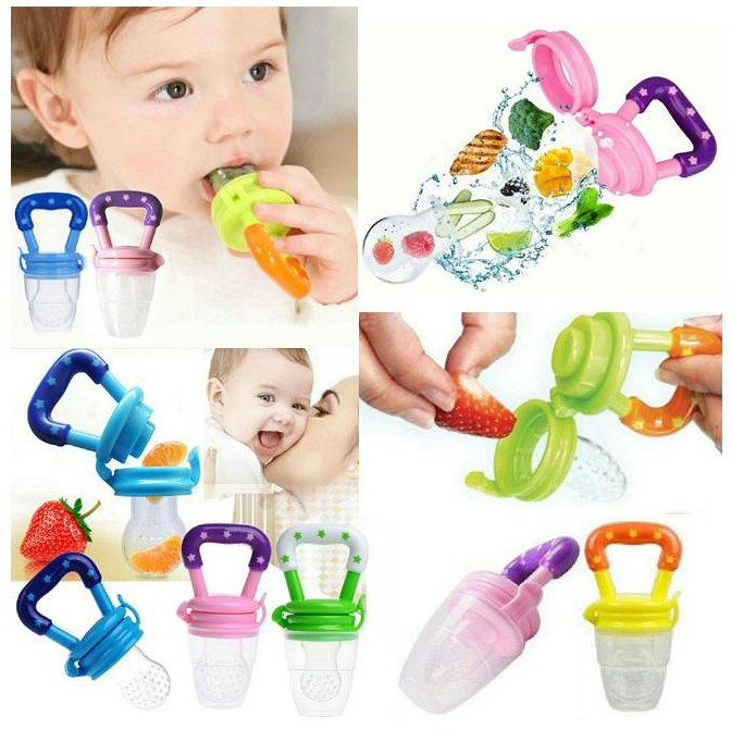 Puting Makanan Bayi by OEM Baby Toddler Learning Eating Food Fruit Feeder Pacifier With Silicone Teat Silicone
