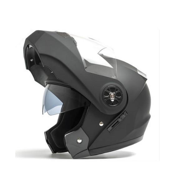 DOUBLE MIRROR WISER MOTO MOTOR MOTORCYCLE CYCLIST RACING HELMET TOPI KELEDER