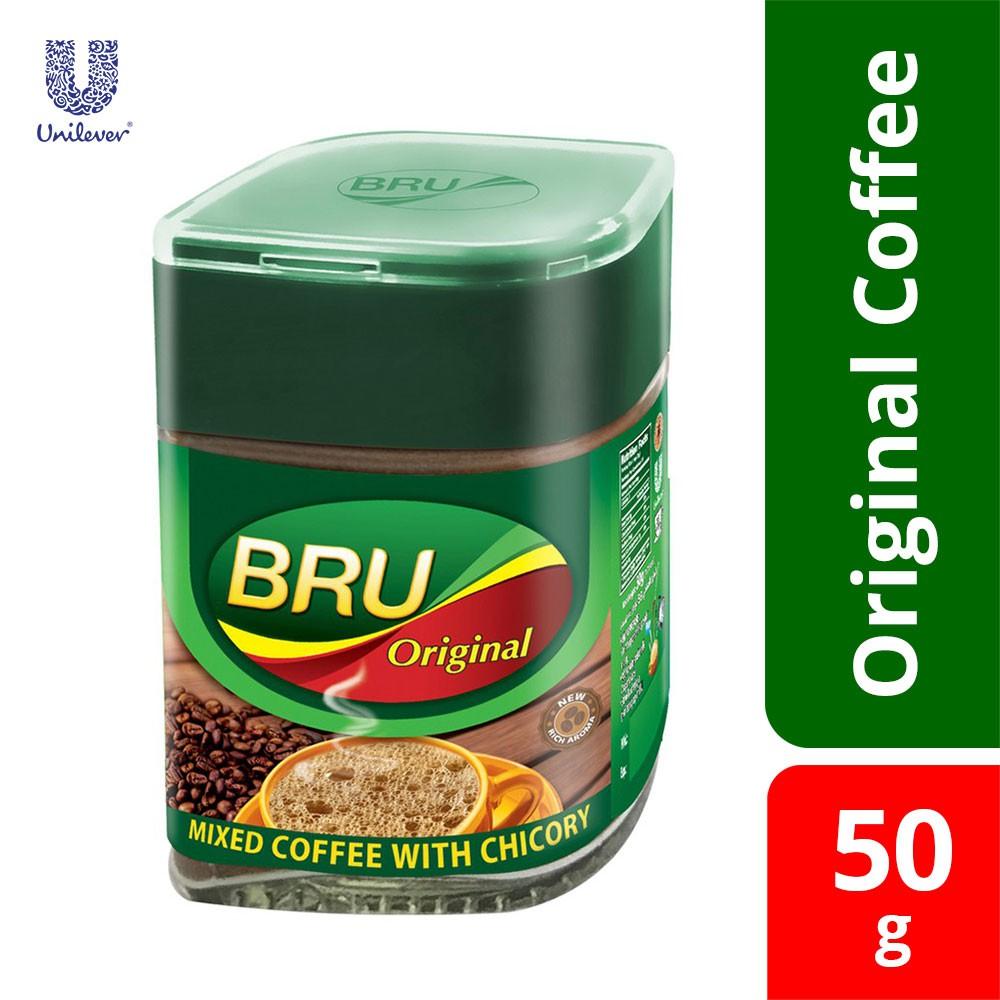 Bru Coffee Original Bottle 50gm