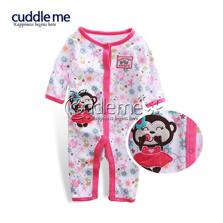Mylilangelz KC2485 Cuddleme One-Piece - Mommy\'s Silly Monkey (READY STOCK)
