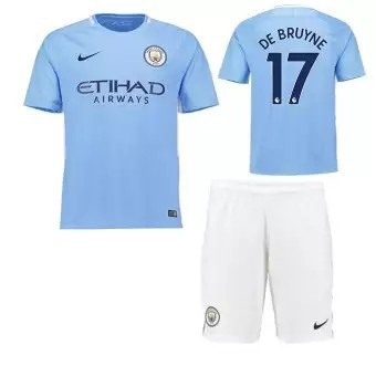 sports shoes c4751 06829 NO.17 DE BRUYNE Home Kit Jersey Soccer football jersey shirts with shorts