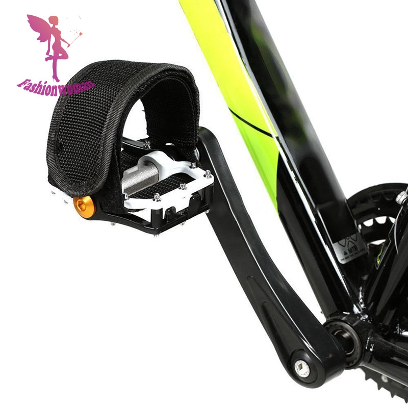 RockBros Cycling Pedals Band Feet Set With Strap Beam Foot  1 pair Black
