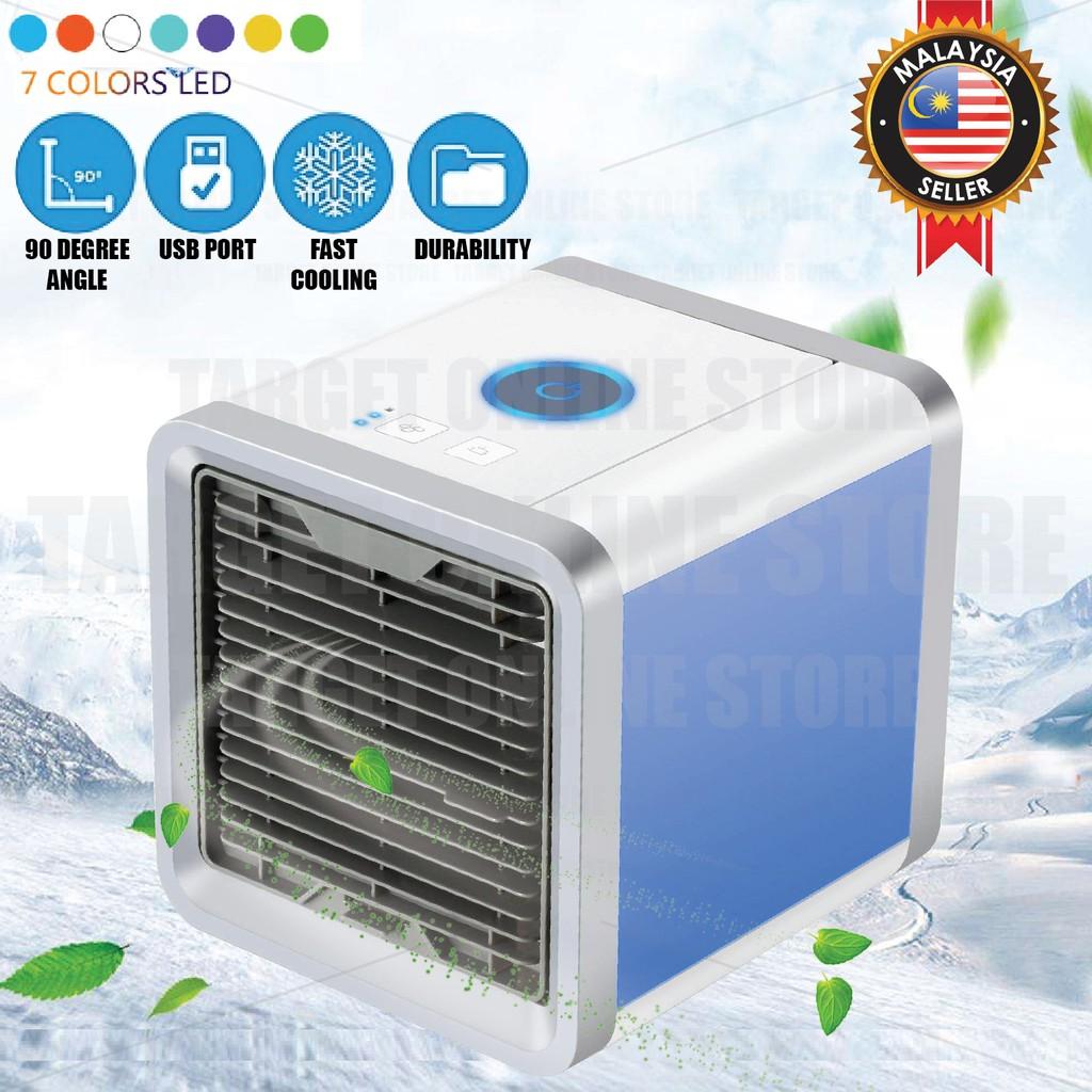 Color : Blue Convenient USB Mini Portable Arctic Air Cooler Personal Space Cooling Electric Fan Low Power Save Energy Durable