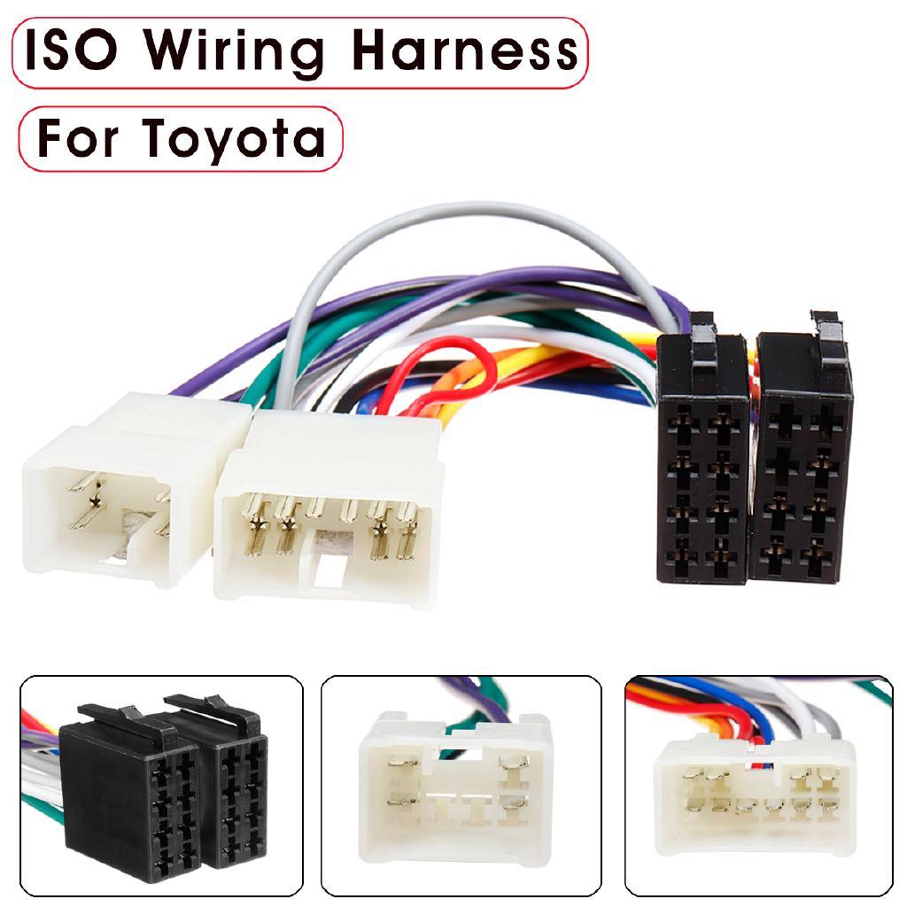 Car Stereo Radio ISO Wiring Harness Plug Loom Adaptor ... on
