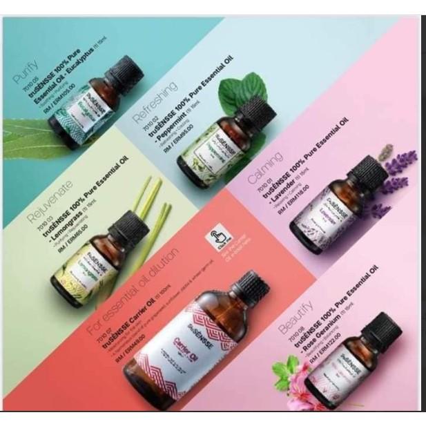 *1pc*Tupperware Naturecare Aroma TruSensse 100% Pure Essential Oil 15ml Aromatherapy Diy body perfume