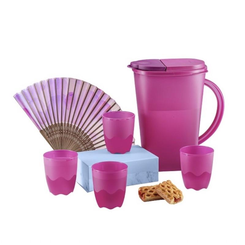 Tupperware camellia collection Serveware set (5pcs)