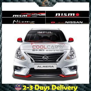 Nissan Nismo Impul Front Windscreen Windshield Window Sticker