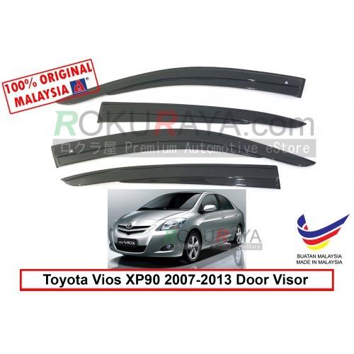 Toyota Vios Dugong NCP93 (2nd Gen) 2007-2013 Door Visor (AG Mugen Design)