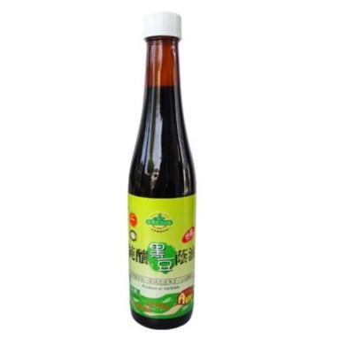 Organic Black Soy Bean Sauce Paste 有機黑豆蔭油 (油膏)450gm
