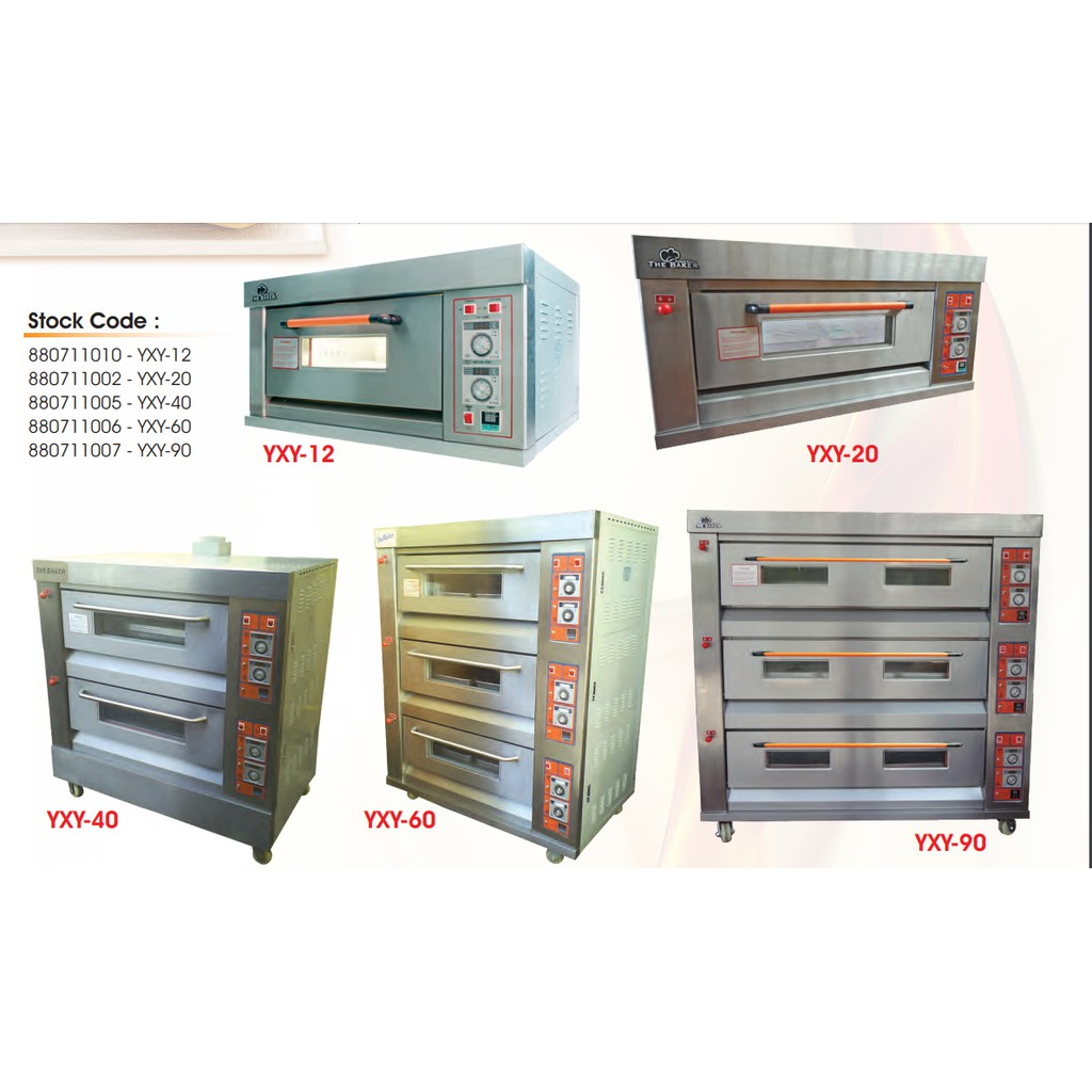 THE BAKER INDUSTRIAL GAS OVEN