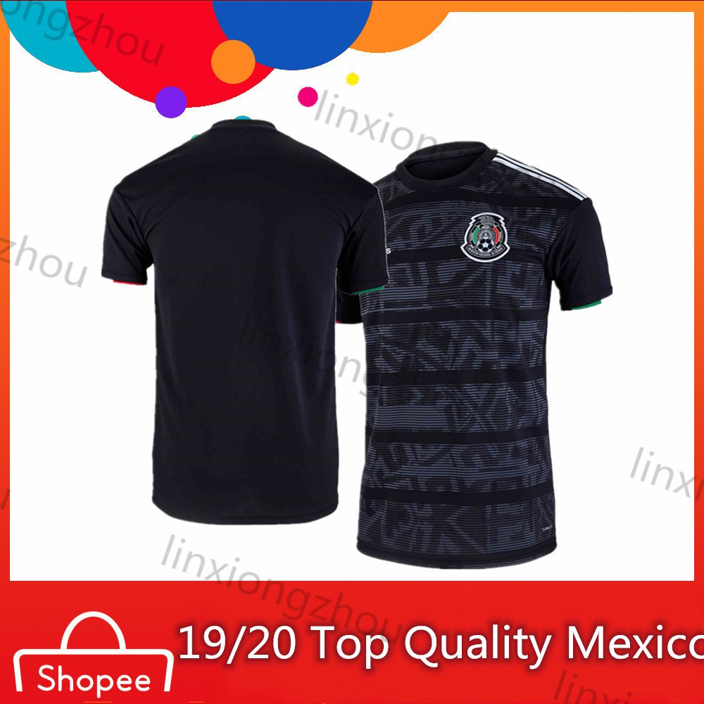 6e9c6a55d 2019-2020 Top Qualtiy Mexico Football Jersey Soccer Jersey | Shopee Malaysia