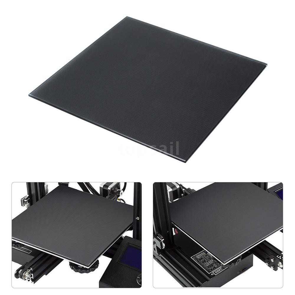 3D Printer Glass Platform Heatbed Hot Bed Build Surface Glass Plate  220*220mm for Anet A8 A6 WanHao i3 3D Printer