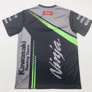 For Kawasaki Ninja Racing Team Men S T Shirt Quick Drying Tee Summer Tee