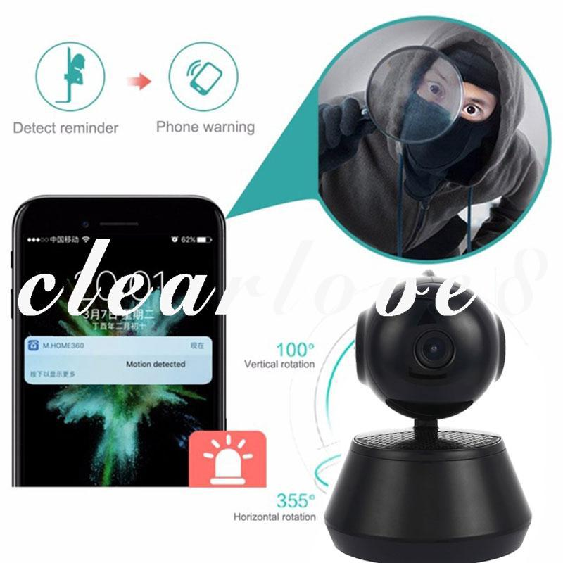 CL8 Mini WIFI IP Camera Video Recorder Cam V380 | Shopee