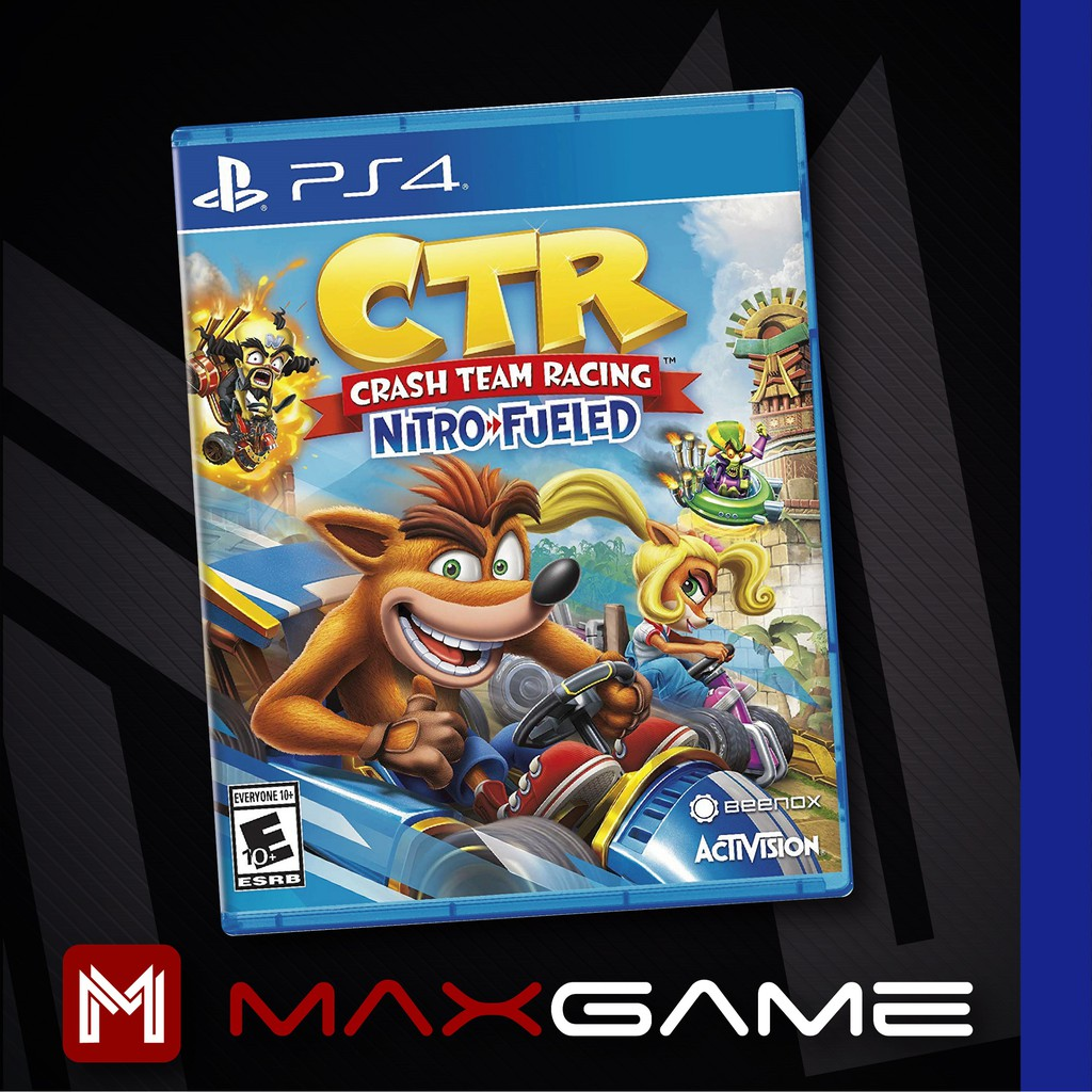 PS4 Crash Team Racing Nitro Fueled / PS4 Crash Bandicoot Racing / PS4 CTR