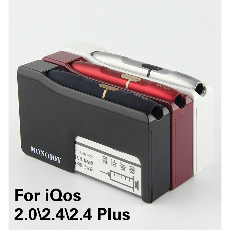 iQos 2 0\2 4\2 4Plus New 3 in 1 Portable Charger Storage Box Accessories