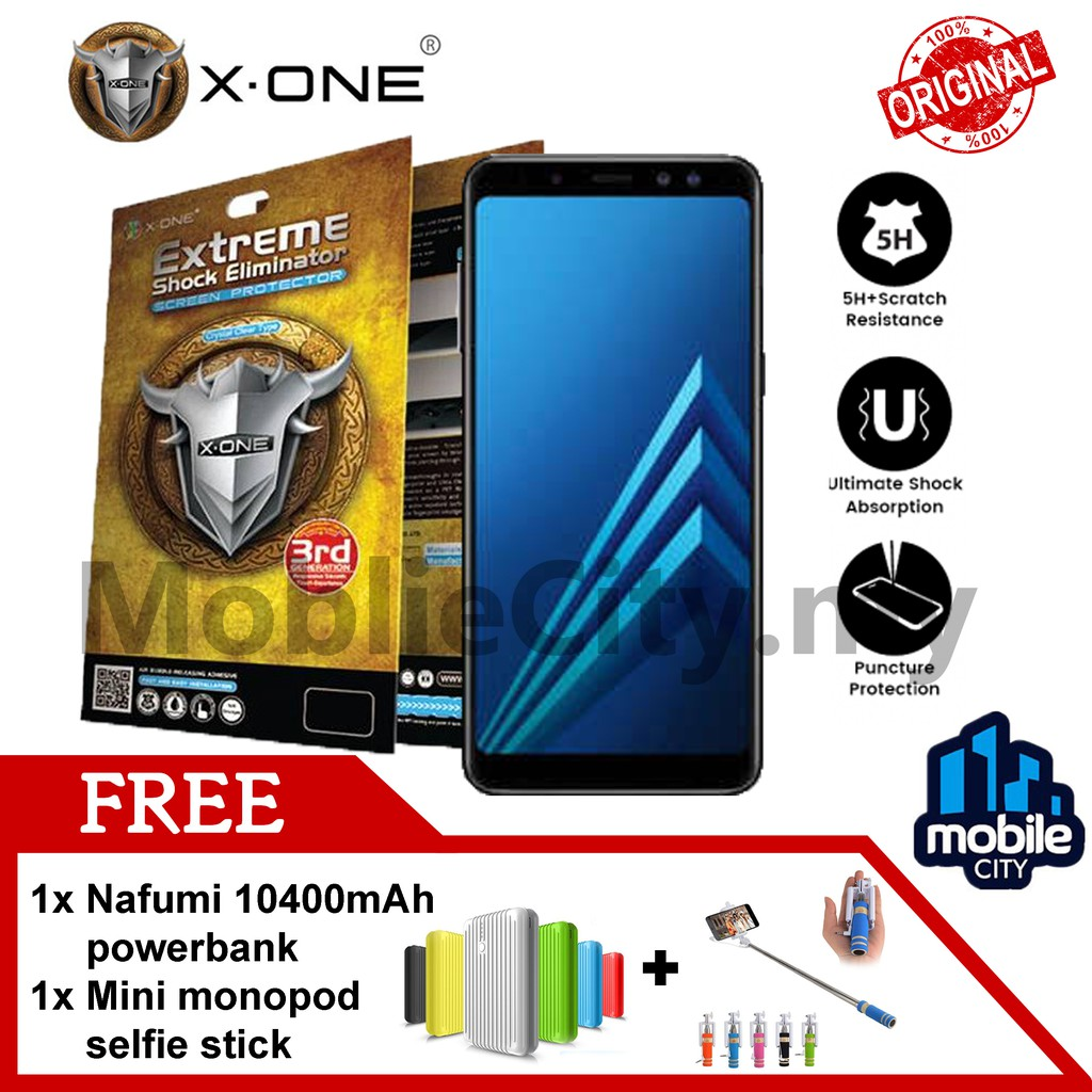 X-One® Extreme Shock Eliminator For Samsung Galaxy A8 (100%Original)