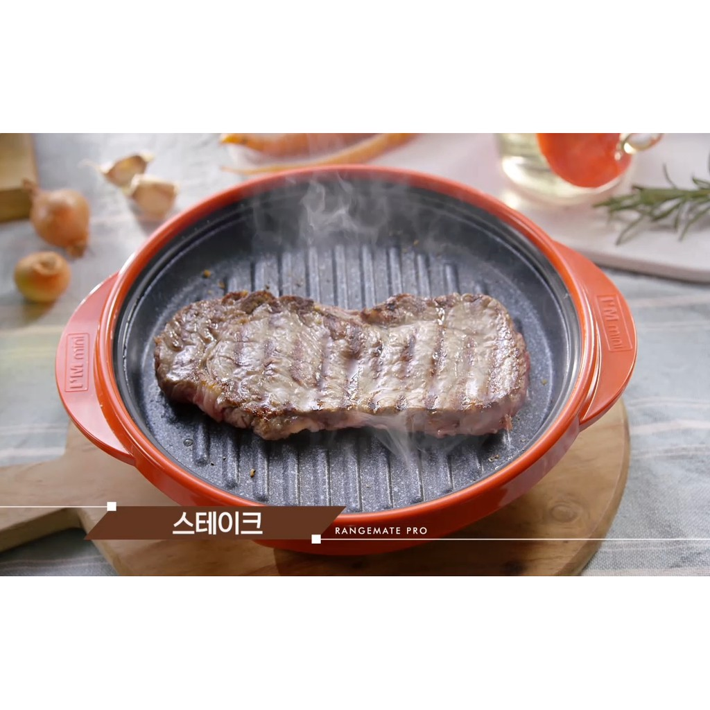 Authentic Rangemate Pro Full Set Grillpan For Microwave Cooking With English Cookbook Range Mate Shopee Malaysia