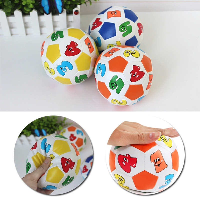 Baby Learning Color Letter Ball Toy Rubber Ball Toy Children/'s Educational Toys
