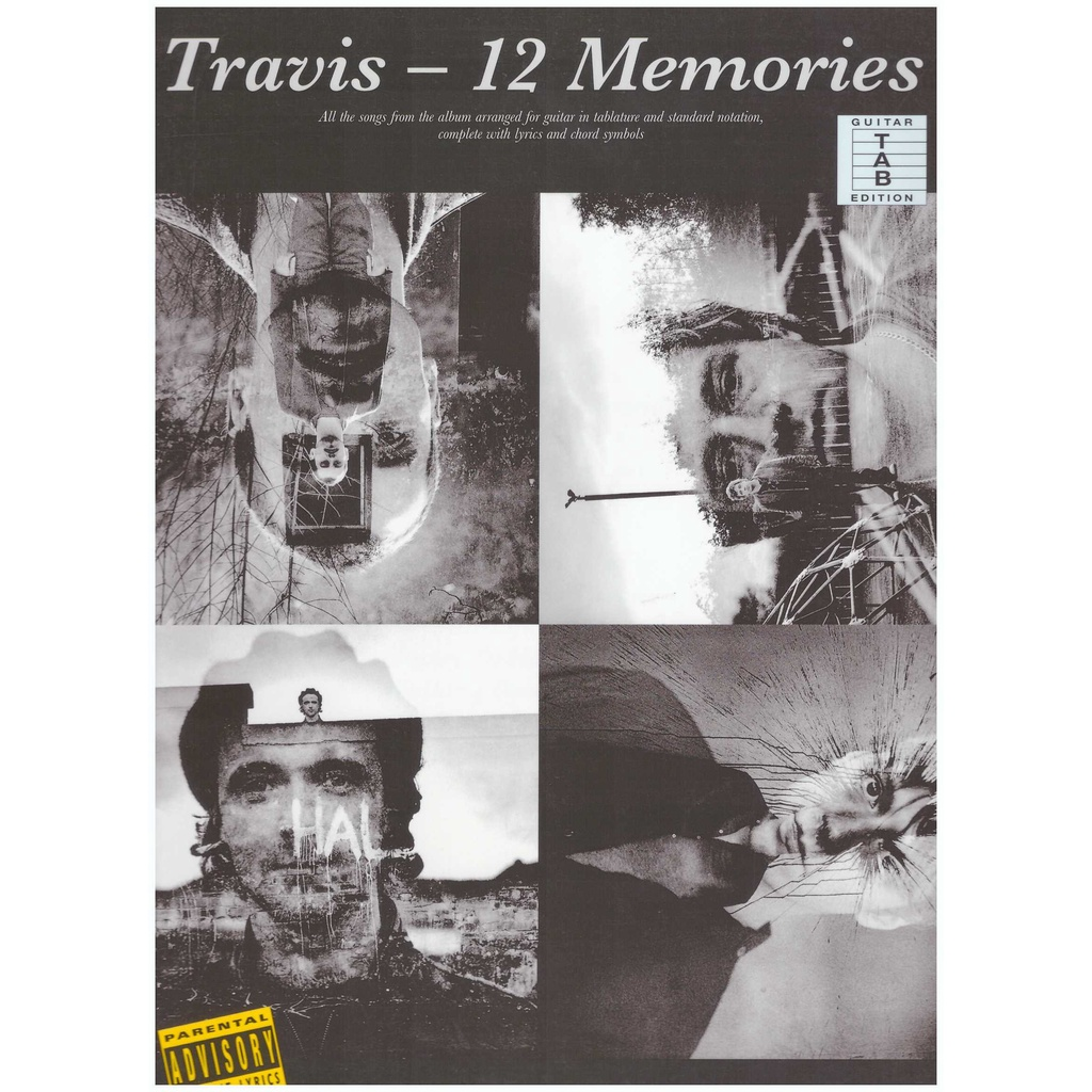 Travis 12 Memories / Guitar Tab Edition / Pop Song Book / Vocal Book / Voice Book / Guitar Book