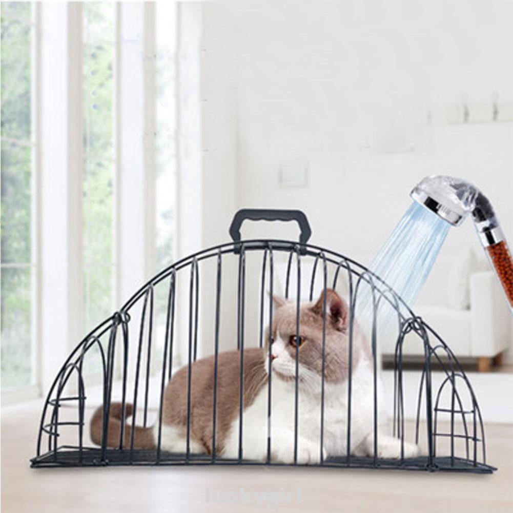 Cage Cat Shower Pet Supplies Anti-grab