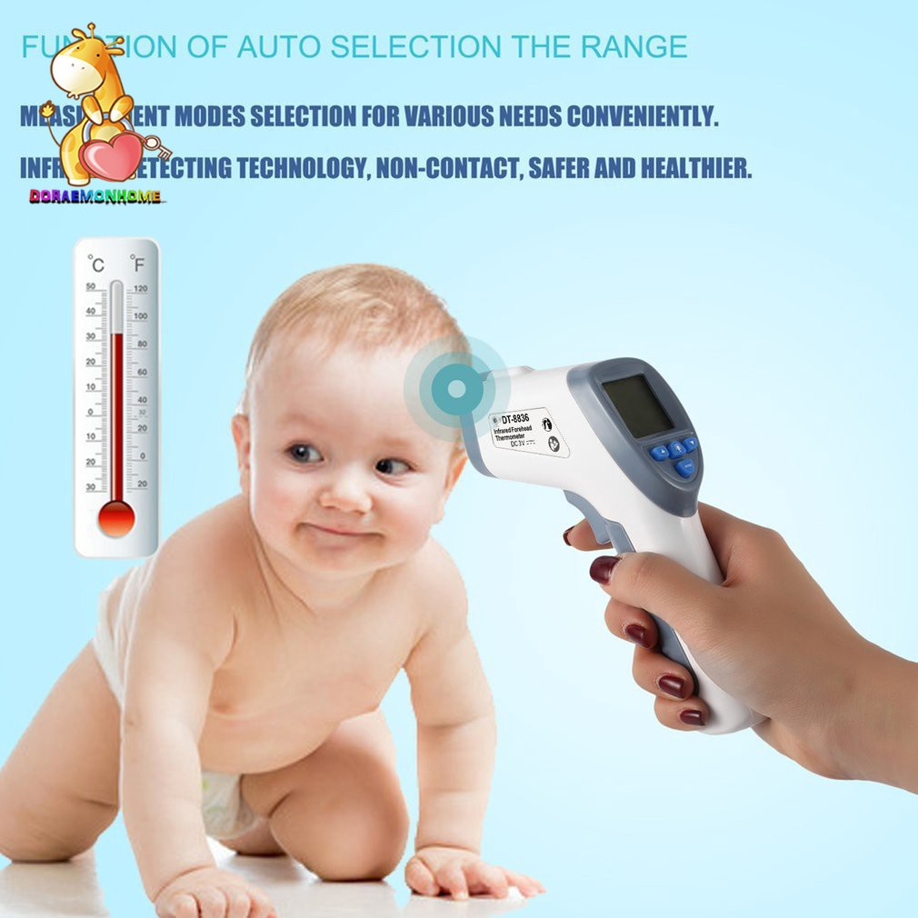 Infrared Digital Termometer Non-Contact Forehead Baby//Adult Body Thermometer /_LM